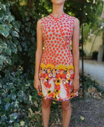 Magnifique robe 70s vintage