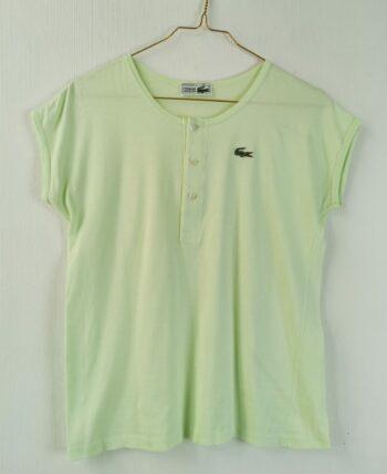 Tee shirt lacoste vert anis