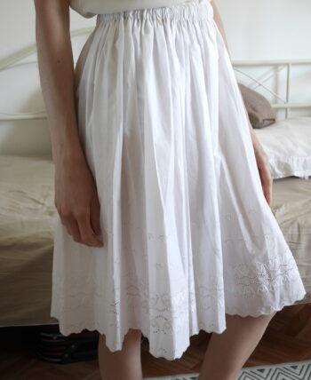 jupon blanc