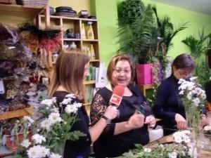 Taller de flores - entrevistas a sistentes