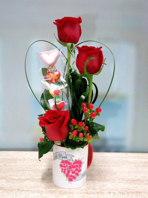 premio flores para San Valentín Sorteo MAYOFLOR