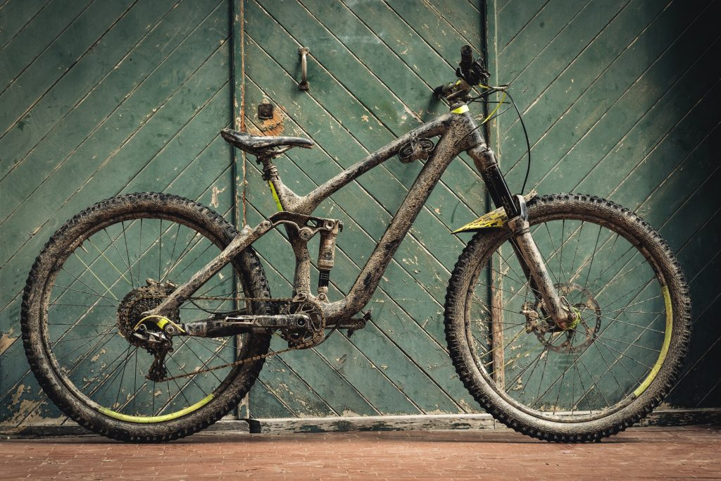 An enduro bike