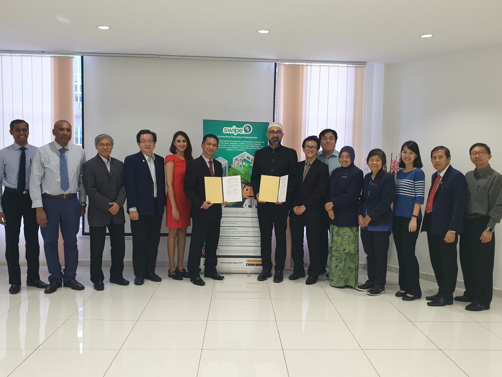 MAP and SwipeRx sign MOU
