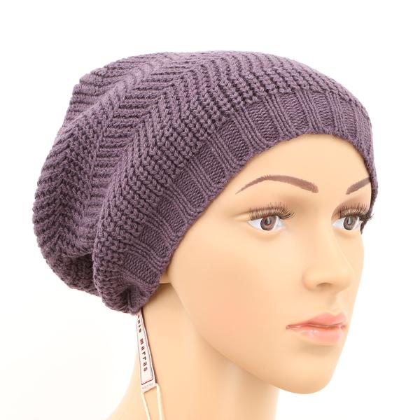 Antonio Marras Women's Cuffless Knitted Beanie Hat 1.50.908 MSRP $248 - New