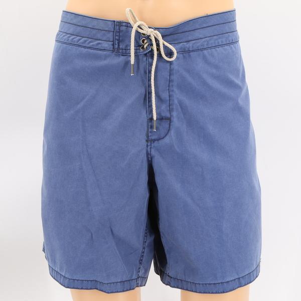 FAHERTY NWT $135 Classic Boardshort Navy Blue Casual Men's Shorts Pants Bottoms