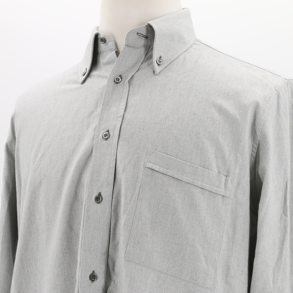 Stylish JEAN & HARRY'S NWOT $260 Chest Pocket Collared Button Up Men's Shirt Top