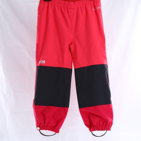 HELLY HANSEN Shelter Red/Black Waterproof Toddler & Kids Pants - Style 40331-151