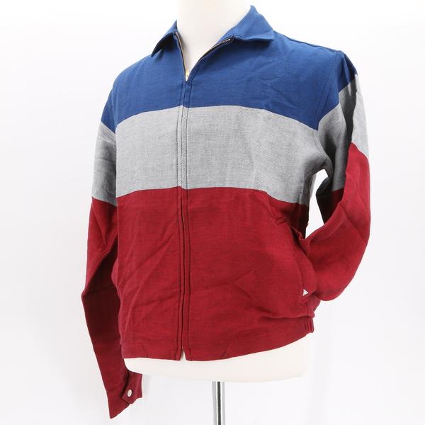 SIDIAN, ERSATZ & VANES NWT $285 Multicolor Colorblock Zip Men's Shirt Jacket