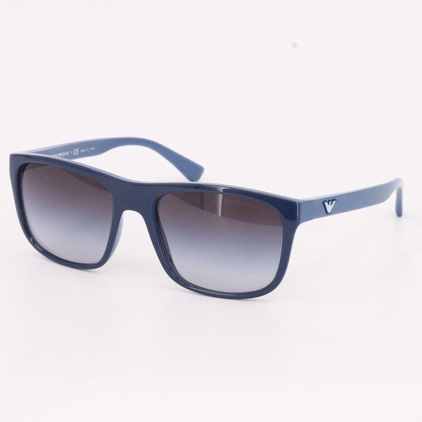 Emporio Armani EA 4085 5556/8G $140 Men's Blue Two-Tone Sunglasses - NIB