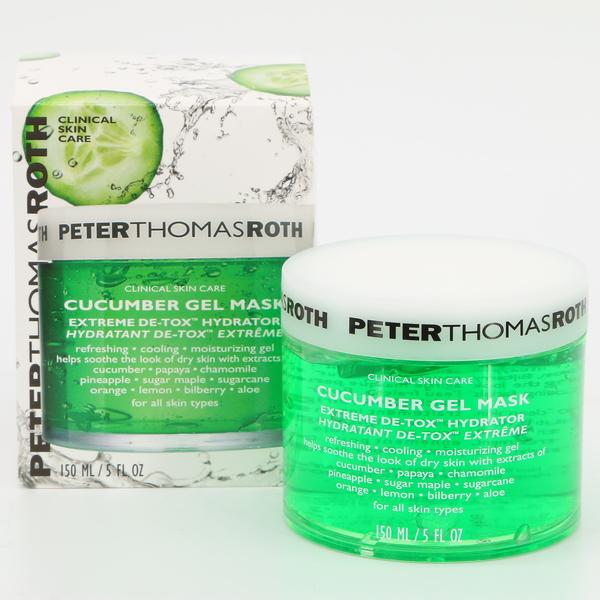 Peter Thomas Roth Cucumber Gel Mask Extreme De-Tox Hydrator 150 ml / 5 Fl oz. NIB