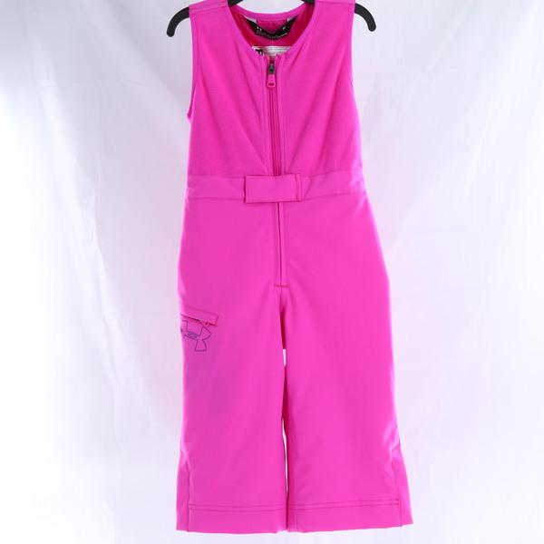 UNDER ARMOUR Girls' ColdGear Alderhorn Bib - Pink - Style 23F15002-52