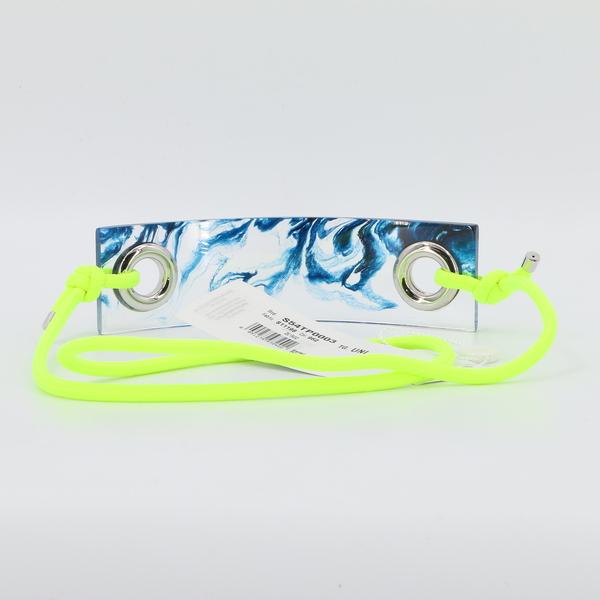 MM6 Maison Margiela NWT $850 Women's Acid Green Belt S54TP0003