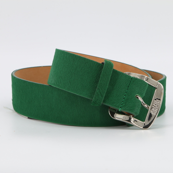 DSQUARED2 NWT $400 Green Leather Women's Belt - Small - W15BE3004 022 8077