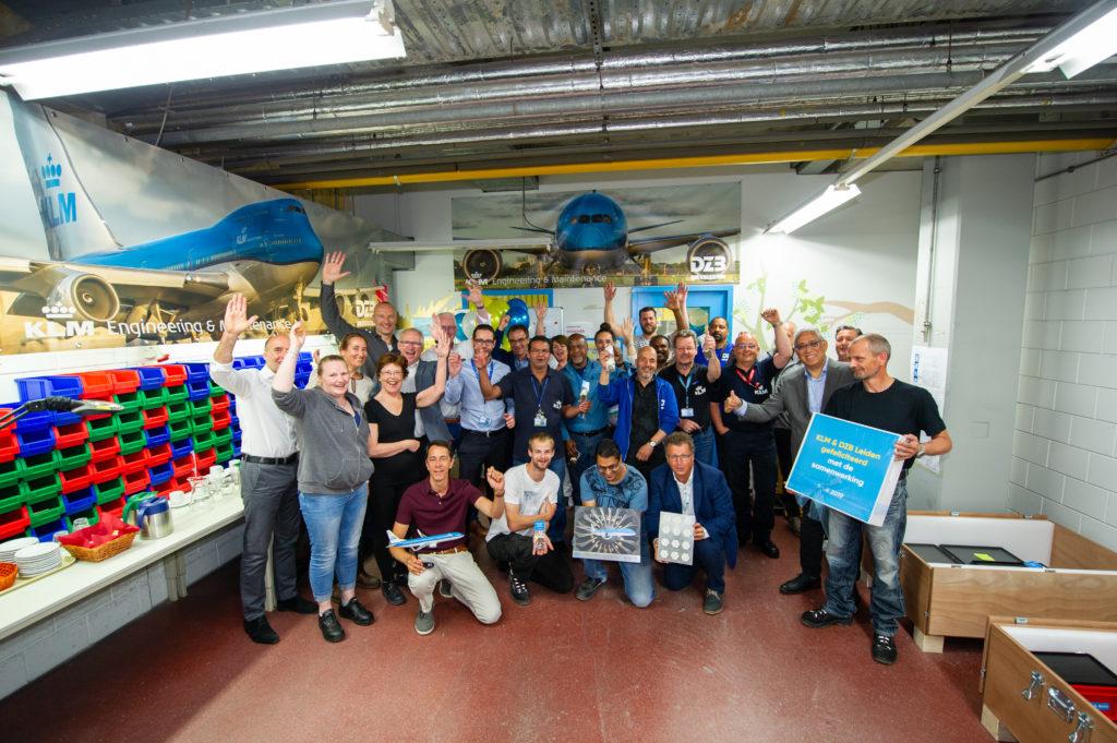 DZB KLM samenwerking
