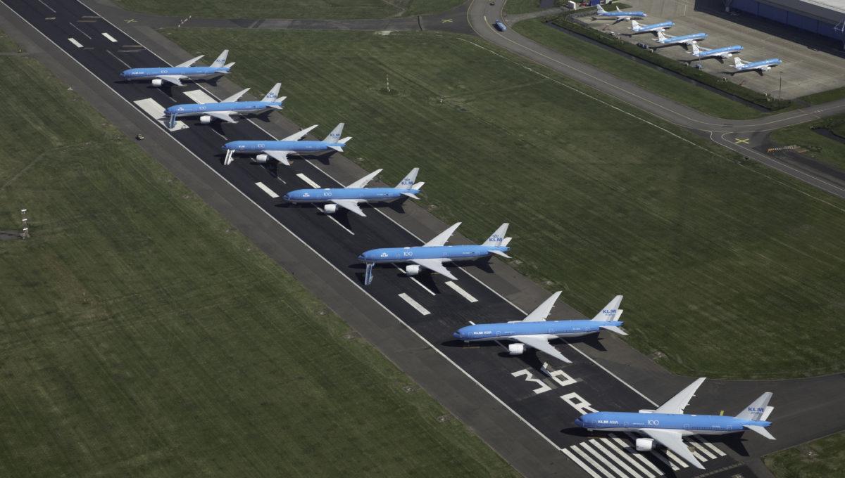 Parked Aircraft Schiphol