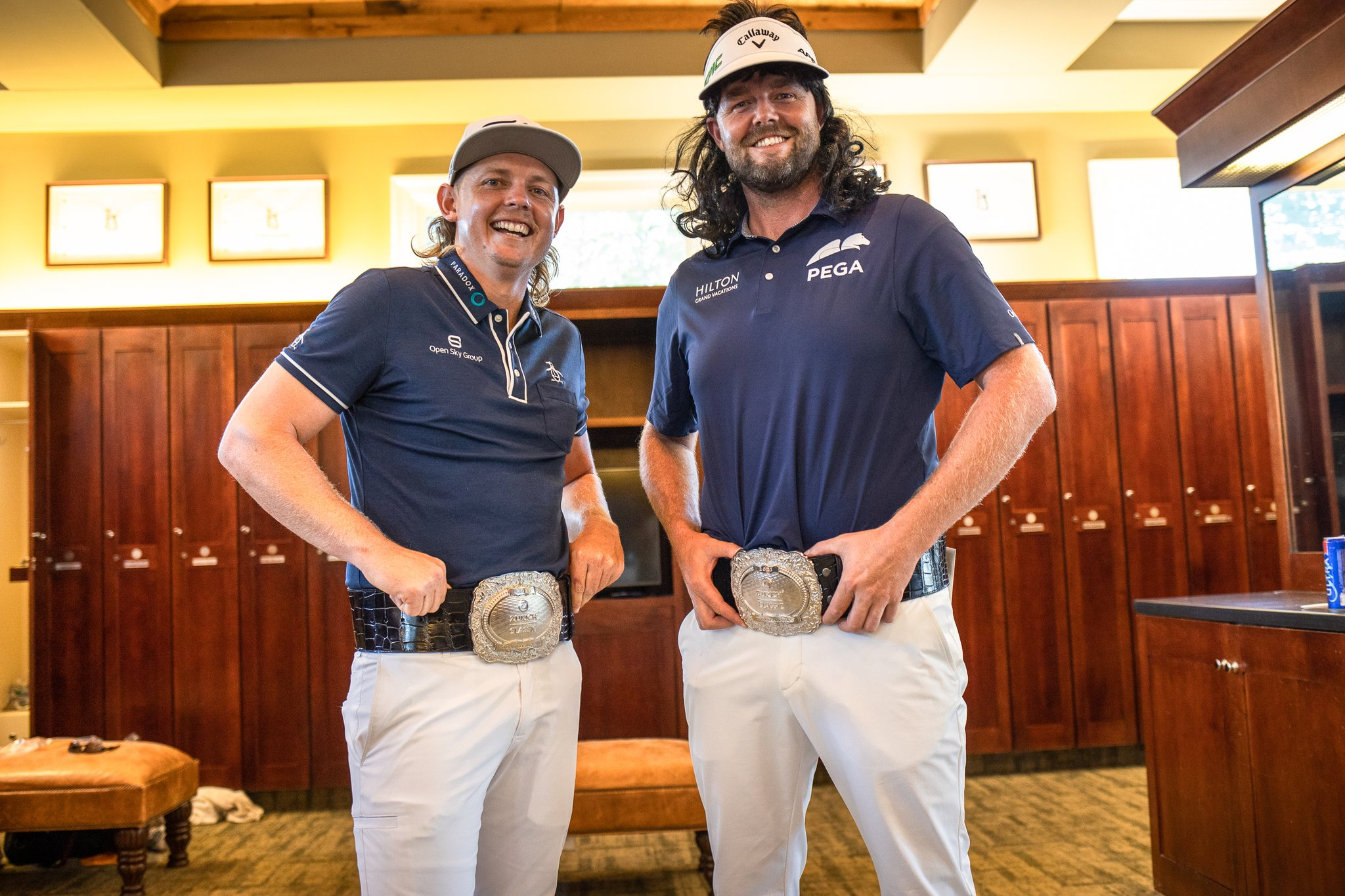 Zurich Classic Champion Buckles- Cameron Smith and Marc Leishman