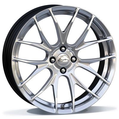 Breyton Race GTS-R 18 Hyper Silver inch velg
