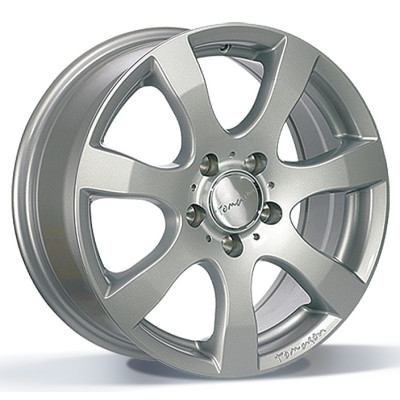 Tomason TN3F 15 Silver painted inch velg