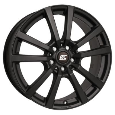 RC DESIGN RC25 T 16 Mat zwart inch velg