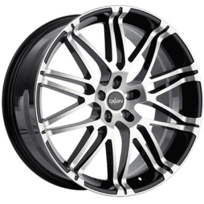 Oxigin 14 Oxrock 17 black full polish inch velg