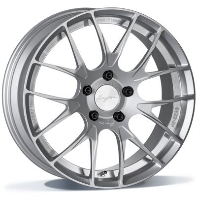 Breyton GTSR-PF 19 Silver Anodized  * FORGED inch velg