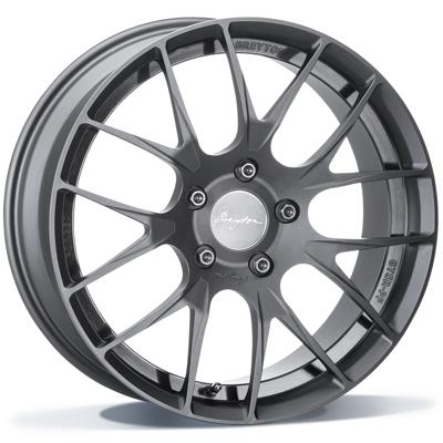 Breyton GTSR-PF 19 Black Anodized  * FORGED inch velg
