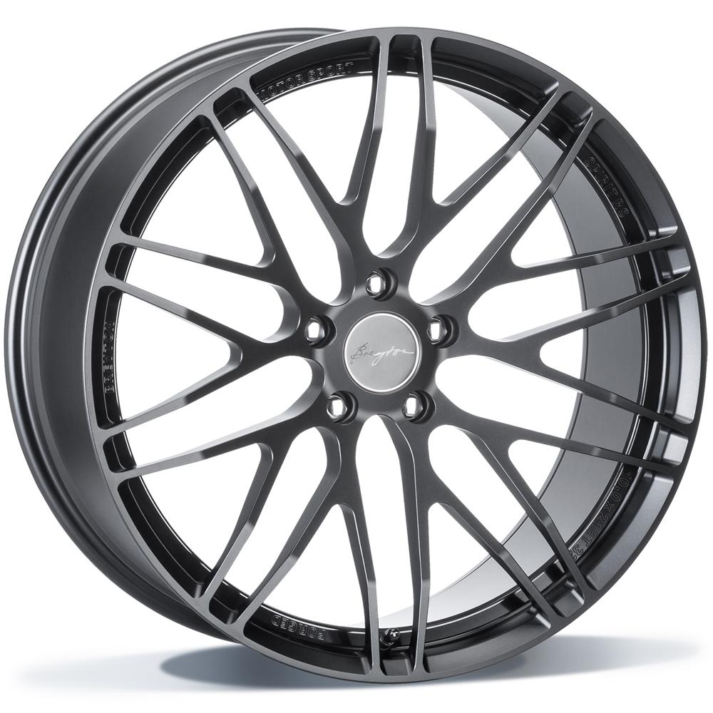 Breyton Spirit RS 19 Black Anodized inch velg