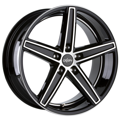 Oxigin 18 Concave 19 black full polish inch velg
