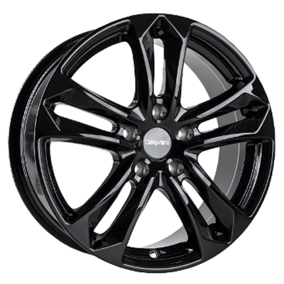 Carmani CA5 Arrow 16 black inch velg