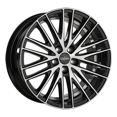 Oxigin 19 Oxspoke 18 black full polish inch velg