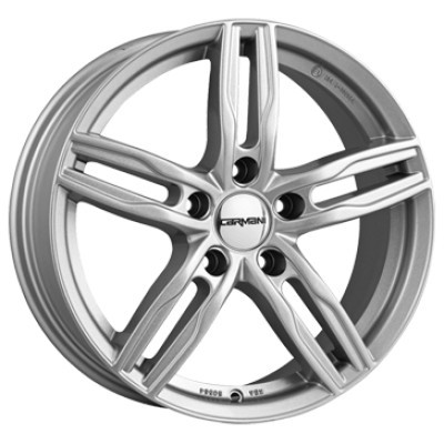 Carmani CA14 Paul 16 crystal silver inch velg