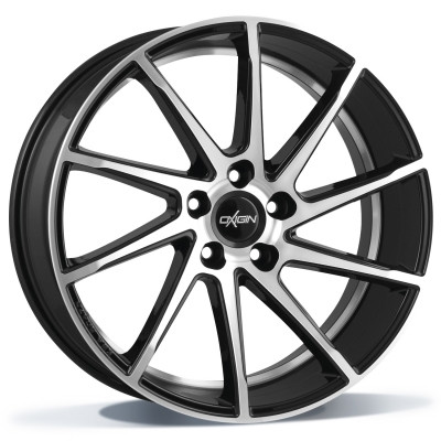 Oxigin 20 Attraction 20 black full polish inch velg