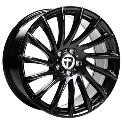 Tomason TN16 17 Black painted inch velg