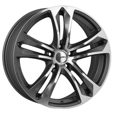 Carmani CA5 Arrow 19 anthracite polish inch velg