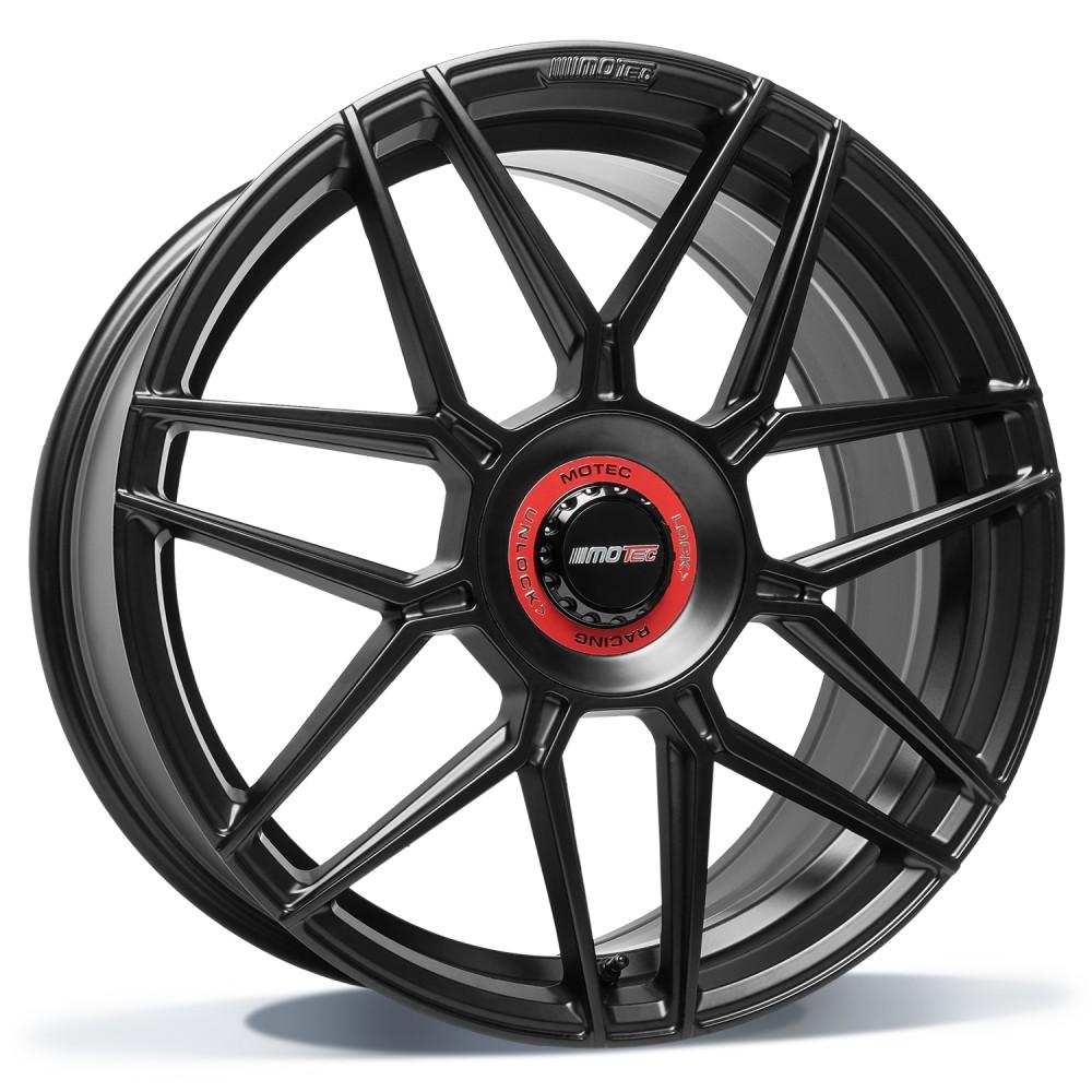Motec GT.one 20 zwart mat inch velg