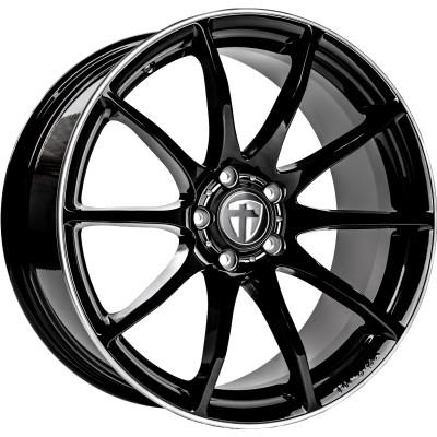 Tomason TN1 18 Black Rim Pol inch velg