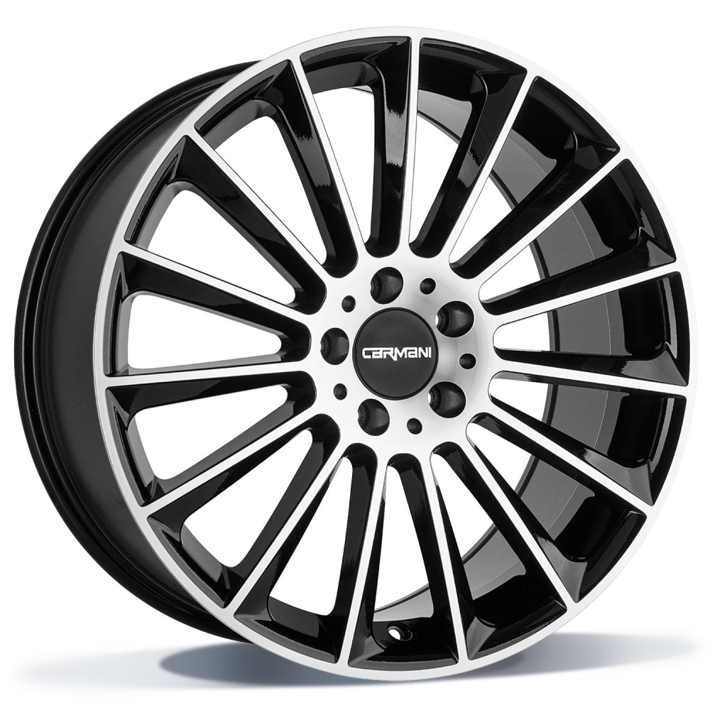 Carmani CA17 Fritz 18 black polish inch velg