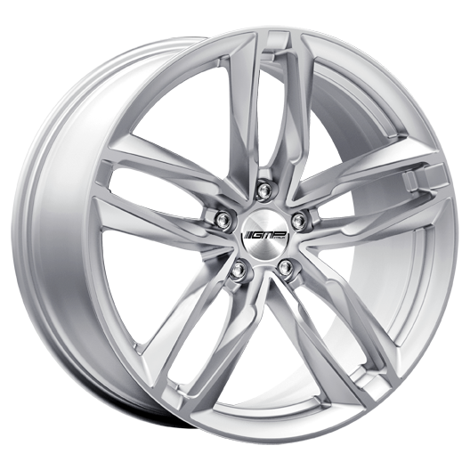 GMP ATOM 18 Silver inch velg
