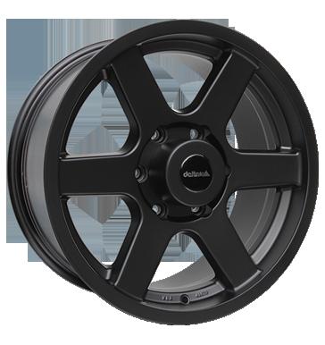 Delta Wheels Avventura 17 Matt Black inch velg