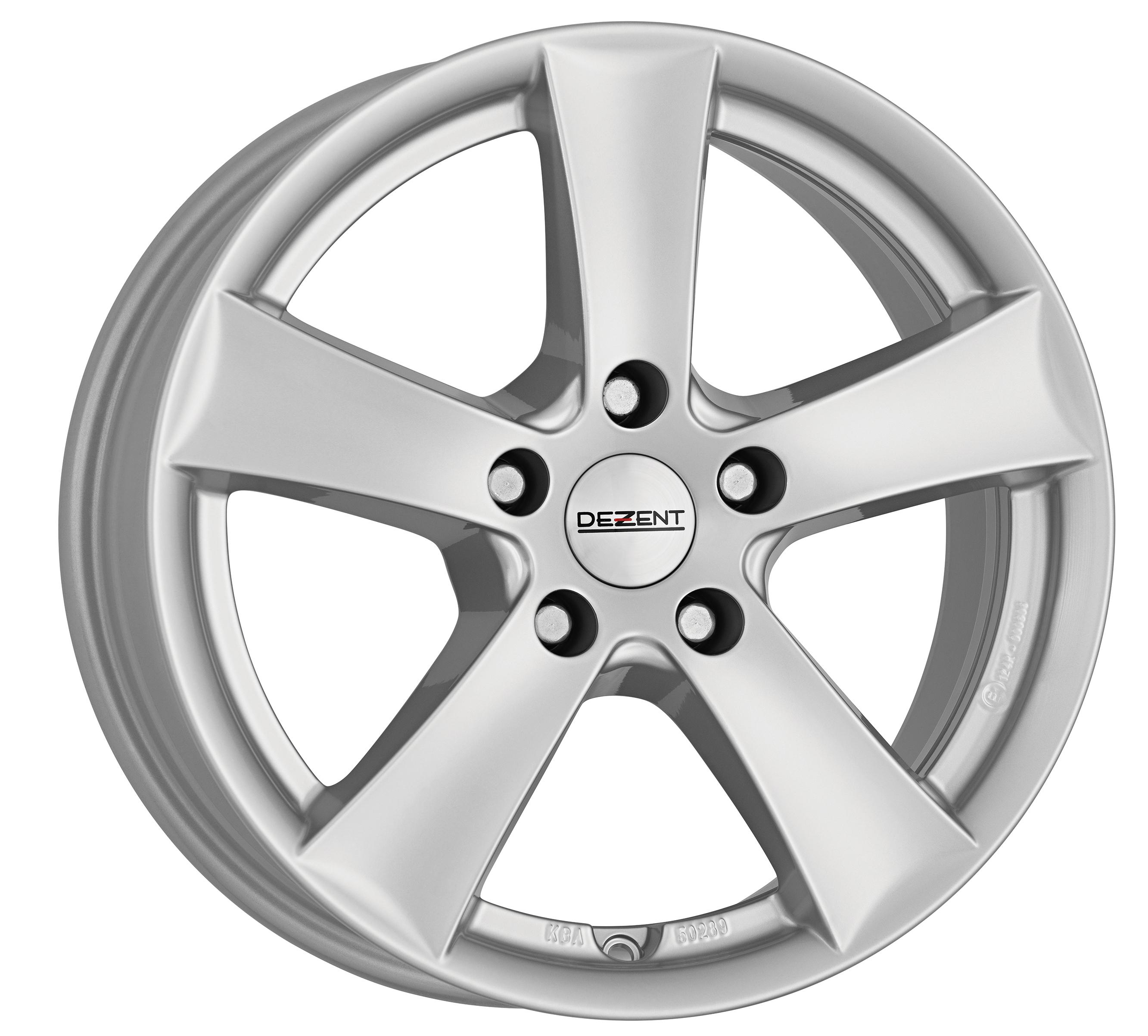 DEZENT TX 14 Silver inch velg