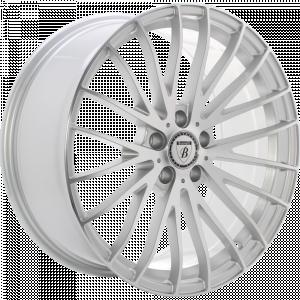 BAROTELLI ST-1 20 Zilver gepolijst met coating inch velg