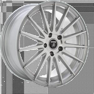 BAROTELLI ST-4 20 Zilver gepolijst inch velg