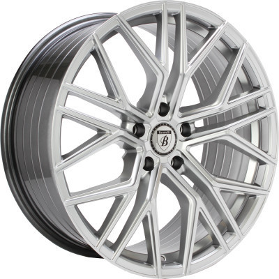 BAROTELLI ST-9 F FLOW FORGED 20 Donker zilver inch velg