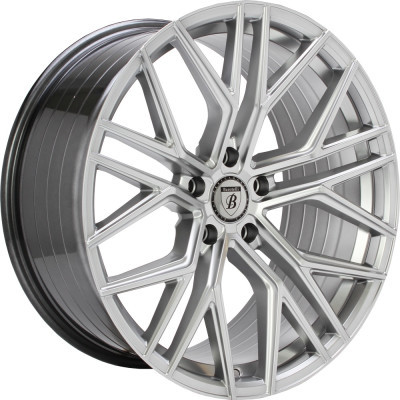 BAROTELLI ST-9 R FLOW FORGED 20 Donker zilver inch velg