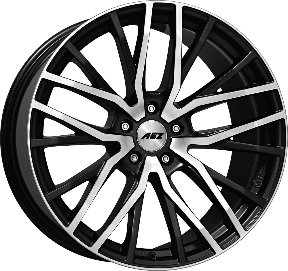 AEZ Panama dark 20 gunmetal/polished inch velg