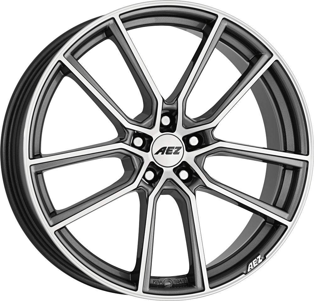 AEZ Raise 20 gunmetal/polished inch velg