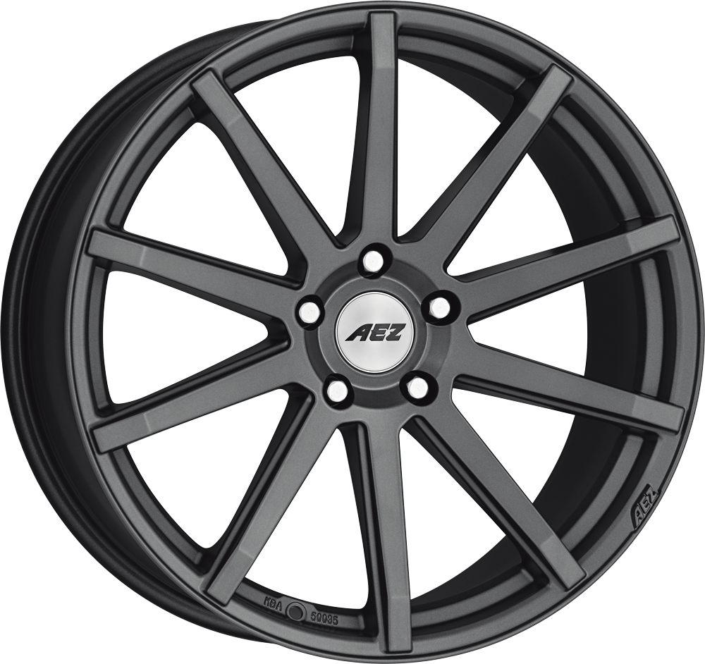 AEZ Straight dark 20 graphite matt inch velg