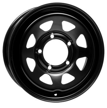 DOTZ 4X4 Dakar dark 16 Black inch velg
