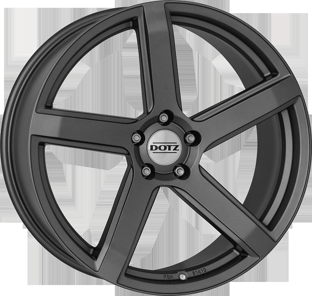 Dotz CP5 graphite 20 graphite matt inch velg