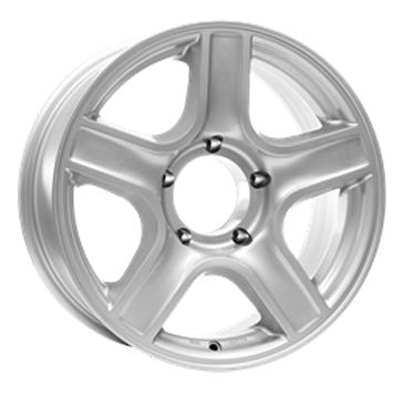 DOTZ 4X4 Hammada 17 Silver inch velg